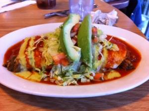 mexIcan veggie burrito