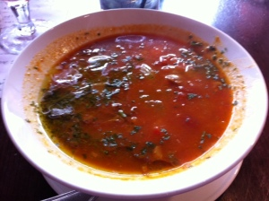 green eggplant soup