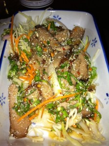 sabai pork salad