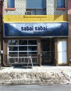sabai sign