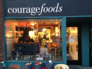 Courage foods