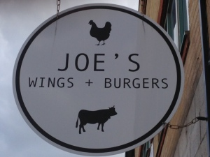JOE'S SIGN